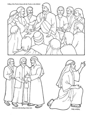 chemarea celor 12 apostoli